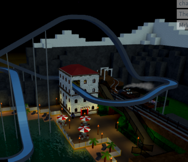 How To Make The Best Amusement Park Theme Park Tycoon 2 In Roblox 3 Review Theme Park Tycoon 2